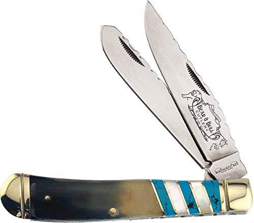 Frost Cutlery Bear & Bull Couteau de Poche fermé 10,49 cm