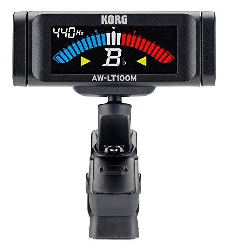 KORG Stimmgerät, chromatisch, AW-LT100 M, Clip-On, schwarz