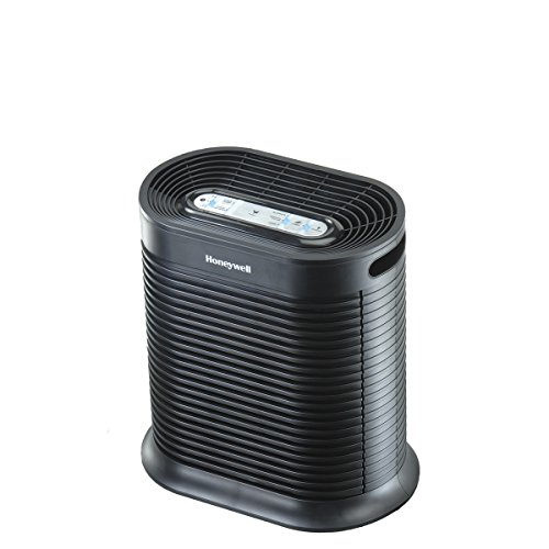Honeywell True HEPA Air Purifier with Allergen Remover-Black, HPA100, Medium Room