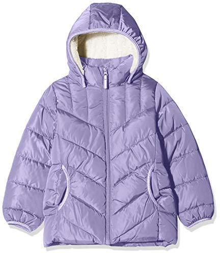 NAME IT Mädchen NKFMUS Puffer Jacket Camp Jacke, Violett (Aster Purple Aster Purple), (Herstellergröße: 122)