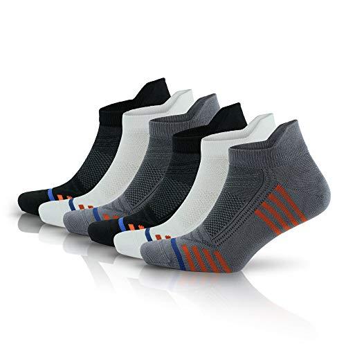 Go With Collection | 3150 | 6 pares de calcetines deportivos de bambú para hombre multicolor 40/44 ES