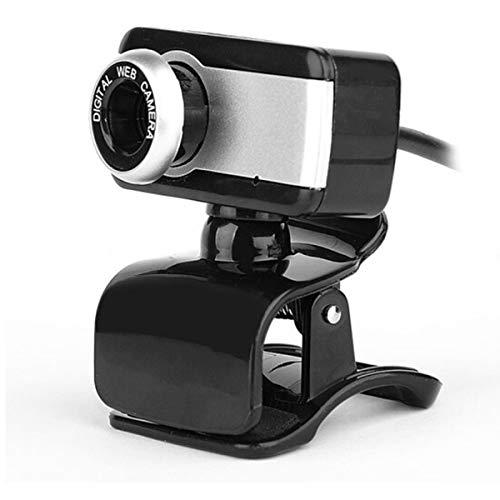 Leyeet Webcam HD Webcam USB Webcam per Laptop 480P Webcam USB 2. 0 Web Cam Clip-On con Microfono per Computer Pc