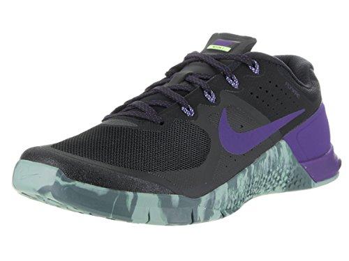 Nike METCON 2, Scarpe sportive, Uomo, Nero (Black / Fierce Purple-Hasta-Cannon), 41