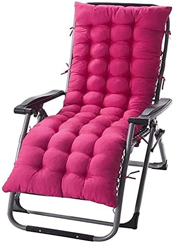 CIN&GO Cojín Longue Cojín Grueso para Chaise Cojines reclinables Cojín para Silla Mecedora Cojín para sofá Alfombrilla de Tatami