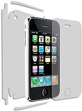 Skinomi Full Body Skin Protector Compatible with Apple iPhone 3GS (Apple iPhone 3G)(Screen Protector + Back Cover) TechSkin Full Coverage Clear HD Film