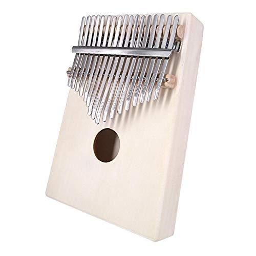 SYXMSM Daumenklavier Kalimba 17-Note Finger Klavier Anfänger Einführung Instrument (Color : A)