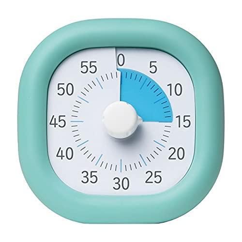 ソニック トキ・サポ 時っ感タイマー 10cm 色で時間の経過を実感 ミントブルー LV-3062-MB 【まとめ買い3個セット】