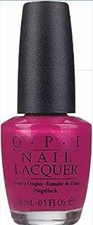 O.P.I Nail Lacquer, Flashbulb Fuchsia, 15ml