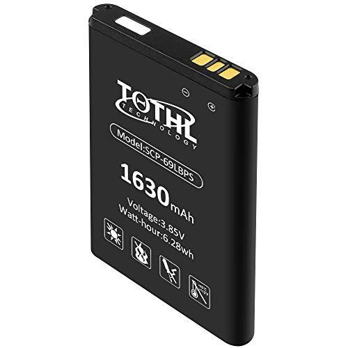 Kyocera SCP-63/9LBPS Battery Replacement 1630mAh Batteries for SCP-63LBPS SCP-69LBPS DuraXV Plus E4520 DuraXA E4510 DuraXE E4710 High Capacity Li-ion Flip Phone