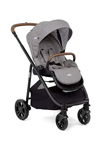 Joie Sportwagen 3in1 Versatrax E & Windel Blaubaer | Buggy klein zusammenklappbar | Kinderwagen von 0 kg bis 22 kg | Kombikinderwagen mit höhenverstellbare Schiebebügel, Regenschutz