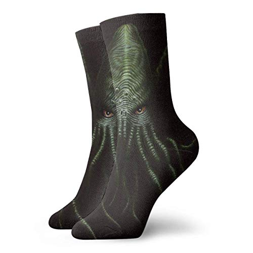 Tammy Jear Calcetines unisex Cthulhu Monster Fashion Novedad Calcetines deportivos secos