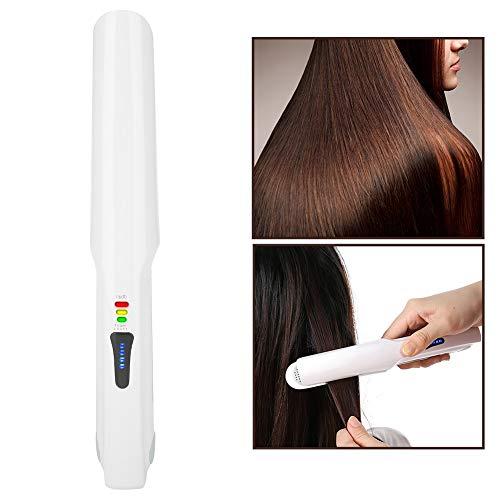 Redresseur sans fil de cheveux, nouveau cheveux sans fil droits bigoudi Hairstyler Portable outil de fer de cheveux USB chargeant comme puissance mobile rechargeable