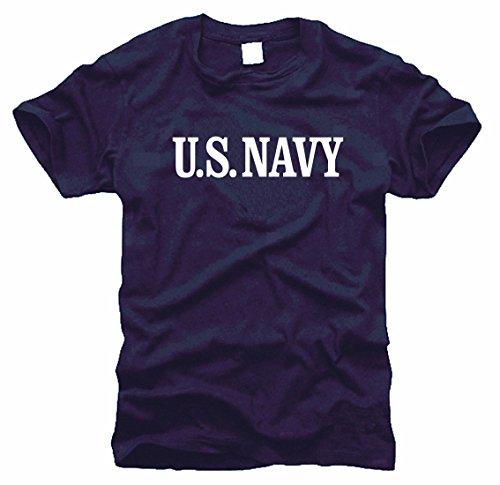 FOTL B&C Gildan US Navy Seals Marines T-shirt Bleu marine Taille L