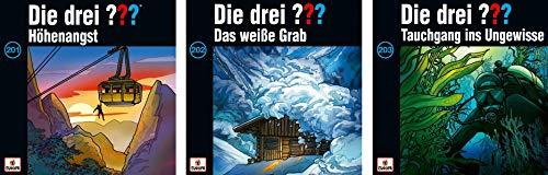 Die Drei ??? (Fragezeichen) - Folge/CD 201-203 im Set - Deutsche Originalware [3 CDs]