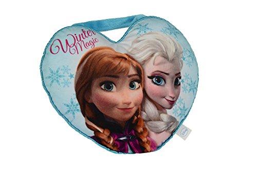 Simba 6315870399 - Disney Frozen Herzkissen mit Anna und ELSA