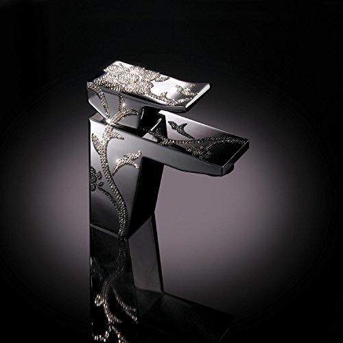maier Luxury–Grifo de lavabo, mezclador cromado
