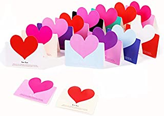 Love greeting cards assortment Gift greeting card blank inside for every occasion Valentine her Him Mother Father Teachers' Day Aloha Birthday Wedding Anniversary of 2019 BALLOON (Assort 12Pcs)