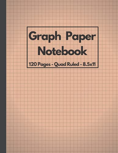 Compare Textbook Prices for Graph Paper Notebook 8.5 x 11: Quad Ruled Composition Notebook, Grid Paper Notebook, 120 Pages  ISBN 9798544651277 by commerce, e-multi