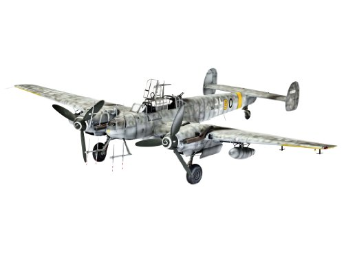 Revell – Echelle 1 : 48 BF 110 Groupe des quatre Nightfighter