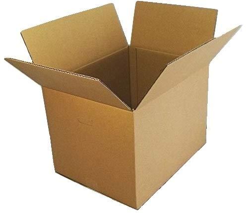 愛パックダンボール ダンボール箱 120サイズ 10枚 段ボール 日本製 無地 持ち手付き
