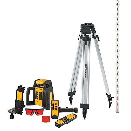 CST/berger RL25HVCK Horizontal/Vertical, Interior/Exterior Rotary Laser Complete Kit -