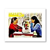 ASLKUYT Gilmore Girls TV Showe Poster Kaffee BEI