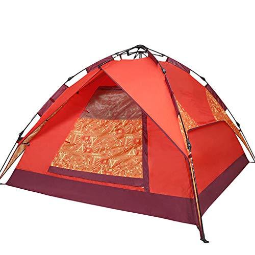 LM-BBQ Wasserdichtes Camping Zelt 3-4 Personen Sofortiges automatisches Aufklapp Zelt UV-Schutz Leichtes wasserdichtes Zelt Sichtschutz-Toiletten Zelt, mit Beutel Bodennagel Doppelschicht