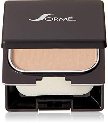 Sormé Cosmetics Believable Finish Wet/Dry Powder Foundation, Pure Beige