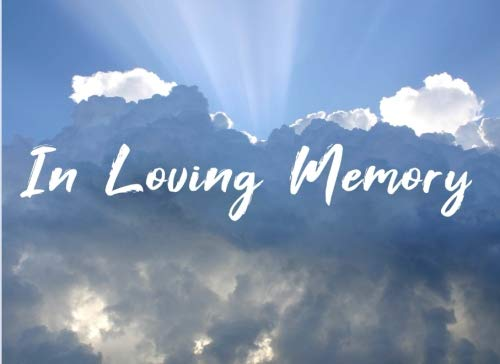 In Loving Memory: Funeral Guest Book For Memorial Remembrance & Condolence Message Service - Cloud Sky Sun Ray