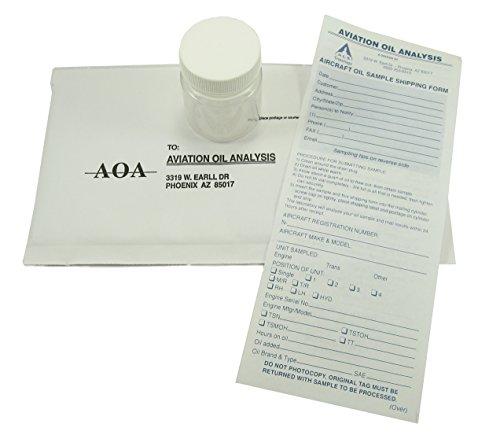 A.O.A. Aviation Engine Oil Analysis Kit