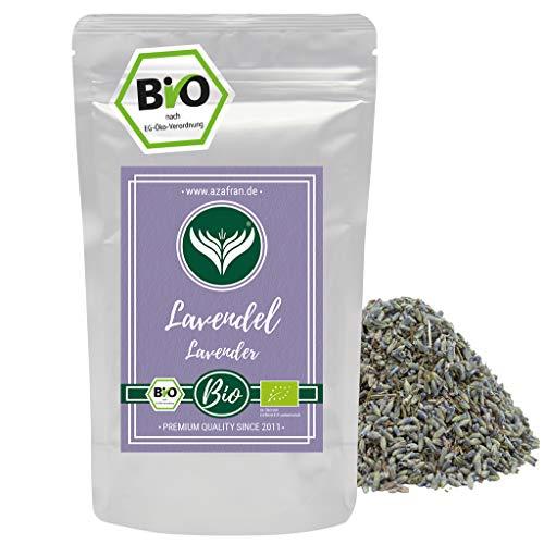Azafran BIO Lavendel - Ganze Lavendelblüten getrocknet auch für Tee 250g