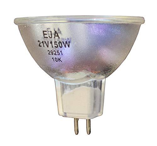 2pcs EJA Donar Bulb RM-109 Welch Allyn LX-150 Light Source - VIVADENT 7210 Heliomat-b-Single, Medical Heliomat B Multi - Scienscope Fiber Optic Microscope Illuminator - KORINS Photonic PL3000 Series