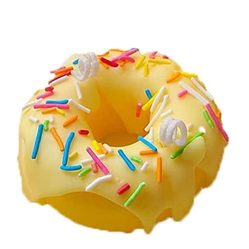 WYGOAKG Mango espolvorear donut vela perfumada cera de soja mango fragancia velas boda fiesta vela conjunto para decoración