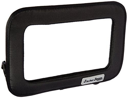 Jeep Large Back Seat Baby View Mirror,Black