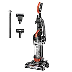 Eureka PowerSpeed Turbo Lightweight Upright Vacuum, Orange