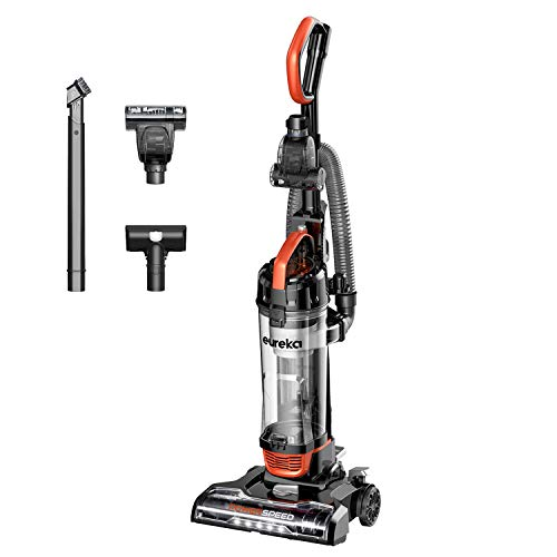 Eureka PowerSpeed Turbo Spotlight Lightweight Upright Vacuum Cleaner, for Carpet and Hard Floor, Pet Tool, Orange