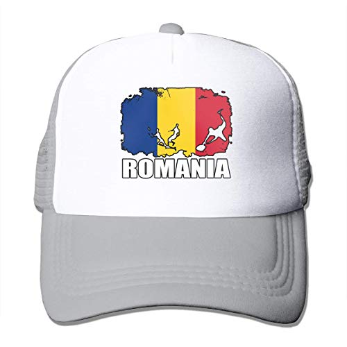 Voxpkrs Romania Flag Football Rugby Adjustable Mesh Trucker Baseball Cap Men Or Women Dad Hat Comfortable743