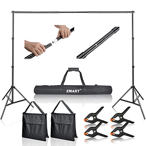 Emart Photo Video Studio 10Ft Adjus…