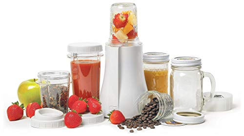 Tribest Single-Serving Mason Jar Personal Blender, PB-350