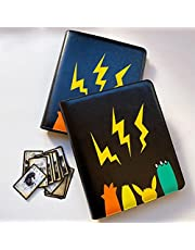 Pokemon Card Set Binder, Kids Cartoon Playing Cards Albums, Trading Card Binder Card Holder, Compatibel Met Pokemon Card, Maximaal 180 Kaarten - Trading Cards Collectors Album Met 90 Vakkenpaginas