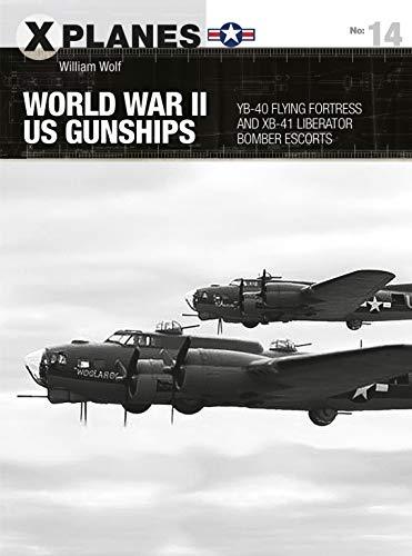 World War II US Gunships: YB-40 Flying Fortress and XB-41 Liberator Bomber Escorts (X-Planes) (English Edition)