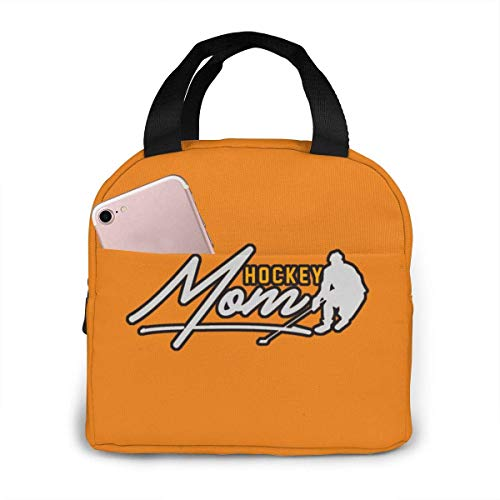 ChaojudingH Hockey Mom Lunch Bag Kühltasche Tote Insulated Brotdose Thermal Lunch Bag For Women/Picnic/Boating/Fishing/Work