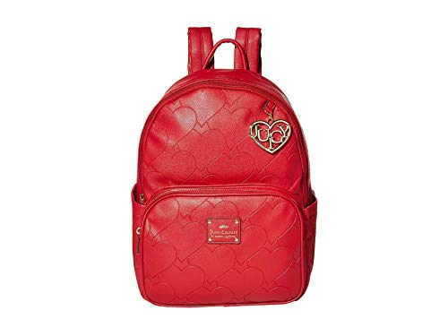 Juicy Couture Heart and Soul Backpack Crimson Red One Size