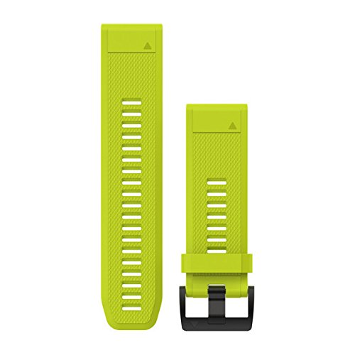 Garmin Quickfit - Correa de reloj, Amarillo (Amp Yellow), 26mm