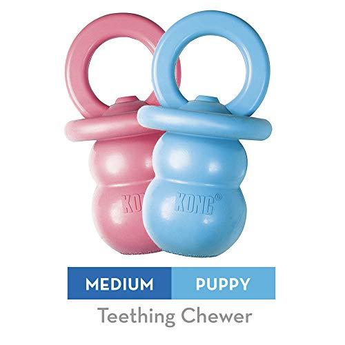 Paulchen Puppy Kong Binkie (M) 15910 Hunde-Spielzeug 14 cm (farblich sortiert)