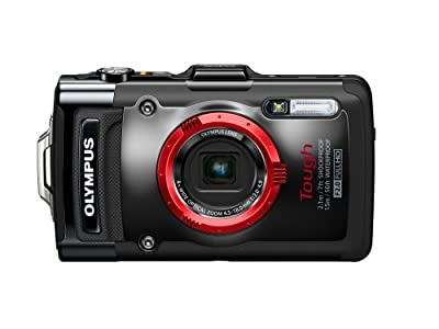 Olympus Stylus TG 2 iHS Digital Camera with 4x Optical Zoom and 3 Inch LCD (Black)