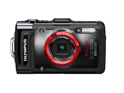 Olympus TG-2 iHS Digital Camera (Black)