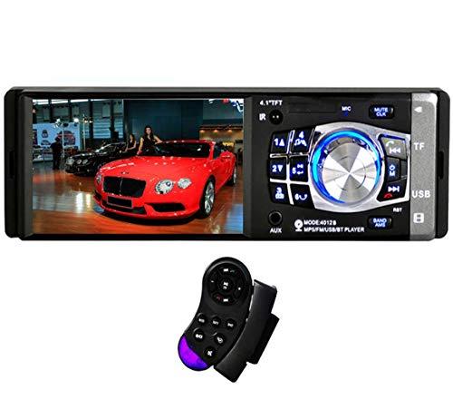 GOFORJUMP 4012B 10,4 cm 1 DIN Radio Auto Audio Stereo FM Bluetooth in-Dash MP3 FM USB Telecomando da Volante autoradio