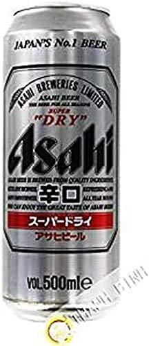 Bier Asahi Super Dry in der dose 500ml Japan - Pack 12 pcs
