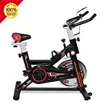 LTTROMAT Exercise Bike Indoor Cycling Bike Spinning Bicycle Stationary Bike With LCD Display And...